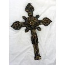 Small brass crucifix