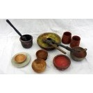 Selection of paint pots & pieces
