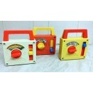 70s toy wind-up music boxes