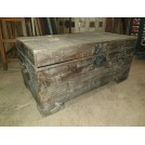 Light Wood flat Top Chest With Legs