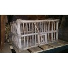 Rustic wood cage