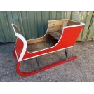 Red Christmas Sleigh