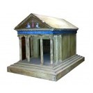 Greek scale model of a temple