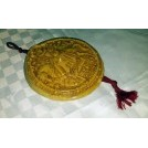 Wax seal on red tassle