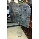 Freestanding fire screen