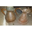 Shaped copper jug