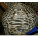 Large ball shape wicker fender
