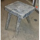 Small rough 3-leg stool