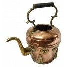 Moroccon brass & copper kettle