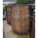 Very tall large wood tub