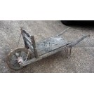Flat wheelbarrow with board