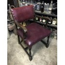Period studded pub chair