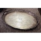Large oval ornate tray