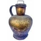 Very large copper urn with lid