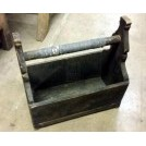 Shaped wood tool box