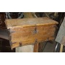 Light wood trunk with latch