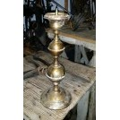 Shaped brass candlestick