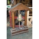 Dummy bell with wood frame