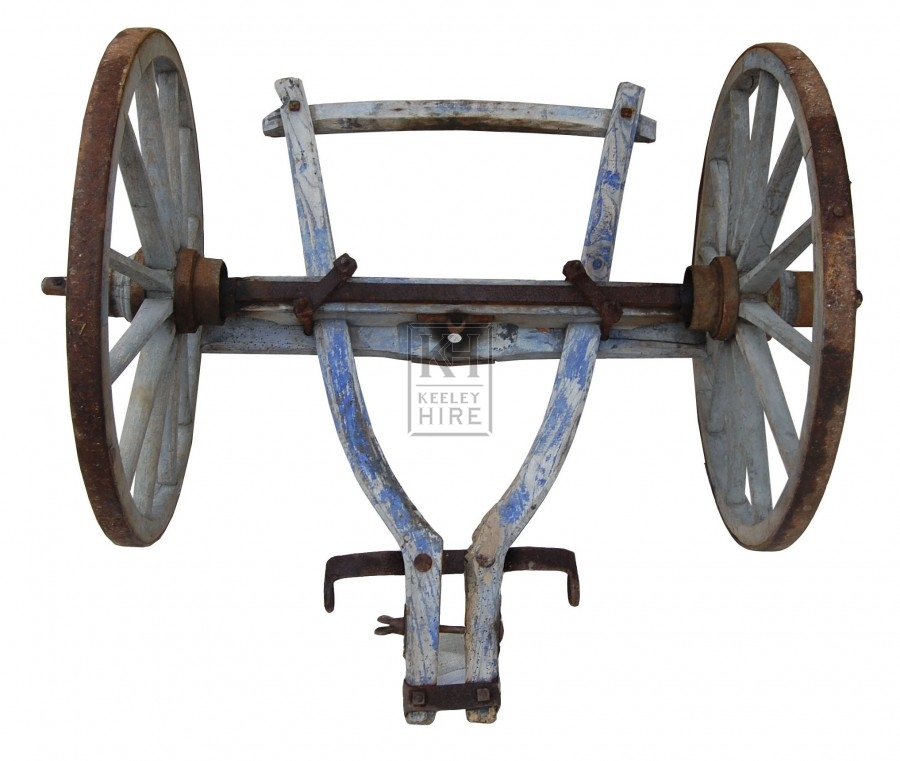 Cart Front Axle : Western prop hire wheel front axle for cart keeley