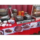 Chinese Market Food stall