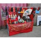Chinese gifts & oddities market stall