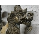 Tall 4 Point Chinese Dragon Candlestick