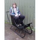 Single Seat Black Sledge