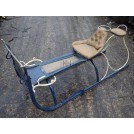 Small Blue Painted Sleigh