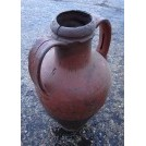 2-handle flat bottom amphora