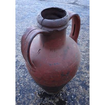 2-handle flat bottom amphora