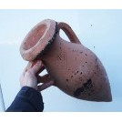 2 handle pointed amphora bulbous