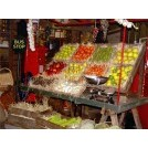 Fruit & Vegetable Market stall dressing