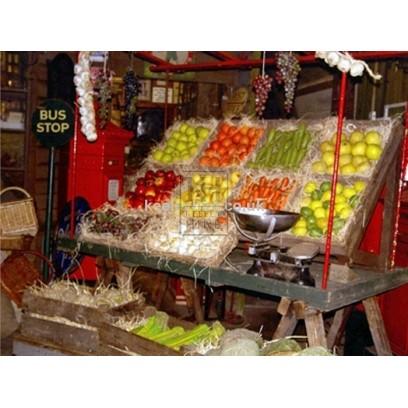 Fruit & Vegetable Market stall dressing