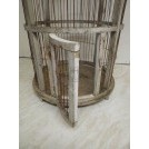 Tall dome bird cage