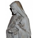 White Virgin Mary Statue