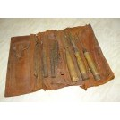 Period Leather tool roll