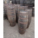 Narrow iron banded pipe barrel