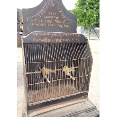 Bird cage stand