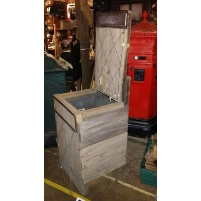 Newspaper crate stand