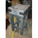 Square freestanding butchers block