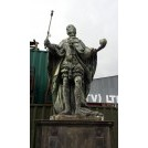 Large Henry VIII statue on plinth