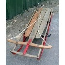 Period wood sledge