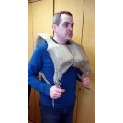 WWII cork life vest