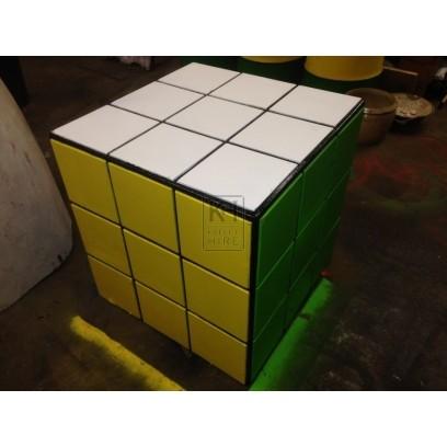 Oversized Rubiks Cube Solved