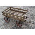 Childs trailer cart with spoke wheels