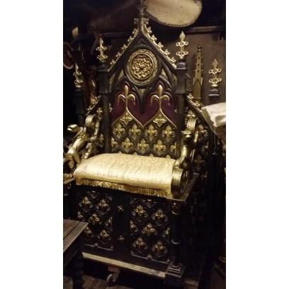 Ornate Gold Throne