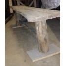Rough tree bench