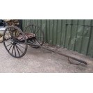 Hay rake with wheels & 2 seats