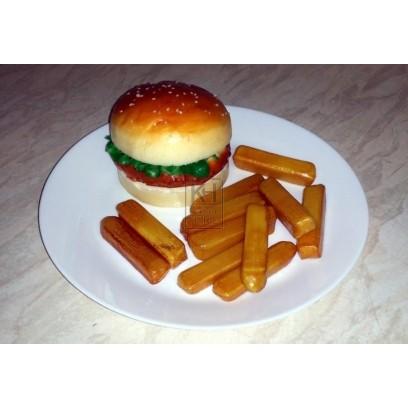Prop hamburger