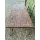 Rectangle Copper Top Table